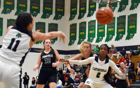 The women' basketball team, in action earlier this season against Zionsville, plays North Central on Feb. 7 at 7:30 p.m. in the Sectional semifinals at Tech.