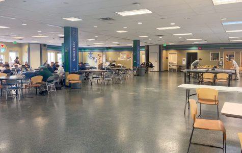 The Shiel Student Life Center serves as the social hub of the campus.
