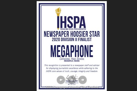 Megaphone earns state press association honors