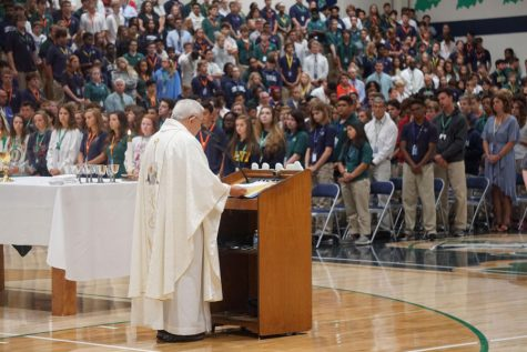 Campus ministry is working to ensure that Mass can be celebrated safely once students return to campus in August.