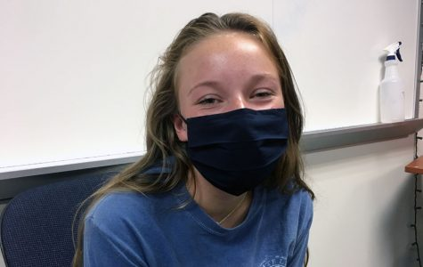 Thanks to Covid-19, senior Lauren Dubbink missed the first few days of her last year of high school.
