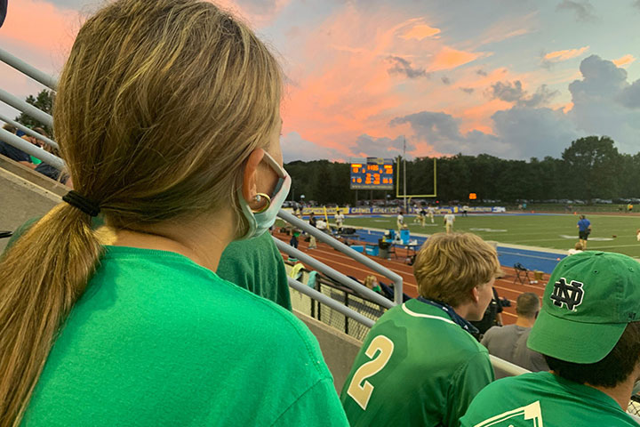 When+the+varsity+football+team+played+at+Carmel+earlier+this+season%2C+more+fans+were+allowed+in+the+stands+than+is+the+case+when+the+Irish+play+their+home+games+at+Arlington+High+School%2C+due+to+different+regulations+that+are+in+effect+in+different+counties.+