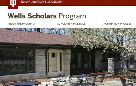 The school is allowed to nominate two seniors for the Wells Scholarship at Indiana University.