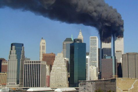 The World Trade Center in New York City was attacked on Sept. 11, 2001.