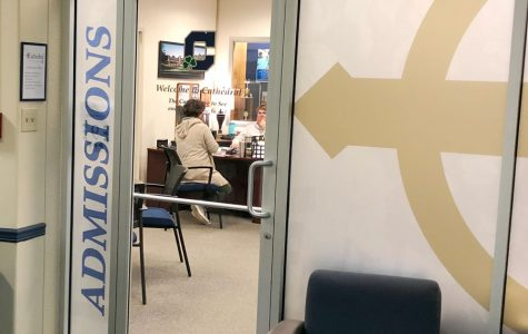 The admissions office has coordinated Covid-safe interviews for current eighth graders who have applied for early admission.