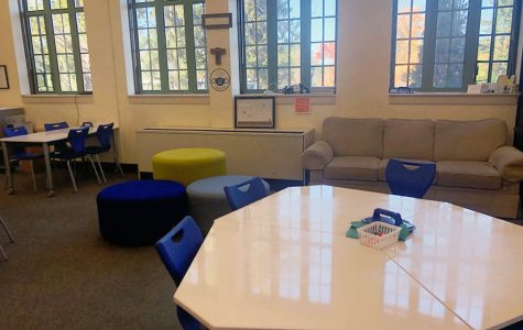 The Learning Commons, which is located on the first floor of Loretto Hall, is just one of the places where students may receive academic help, despite the lack of flex this year.