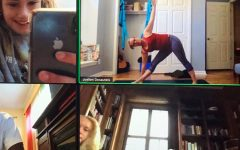 Teacher offers online yoga during Mission Mondays