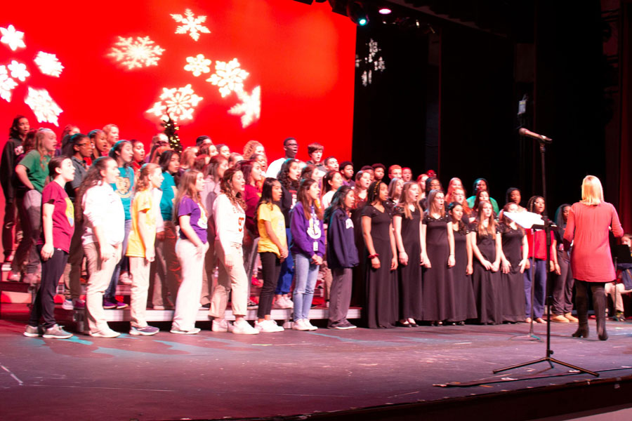 Unlike last year, there will be no Christmas choir concert in the auditorium this year.