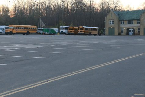 Due to eLearning, the parking lots on campus will remain empty at least until Jan. 19.