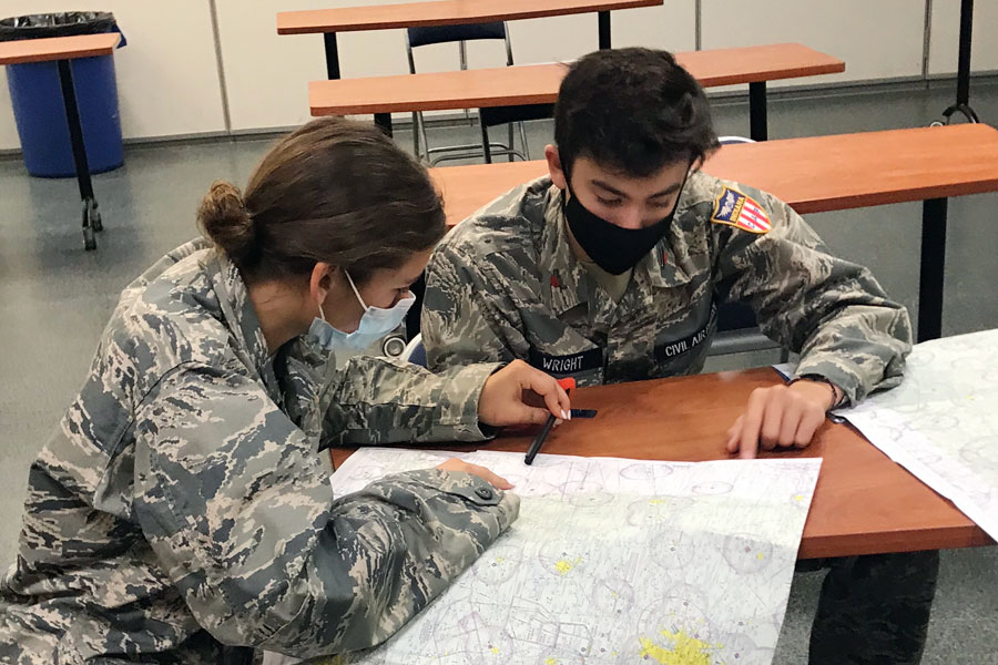 The Civil Air Patrol will be one of the many clubs and organizations presenting information at the Jan. 13 virtual activities fair.