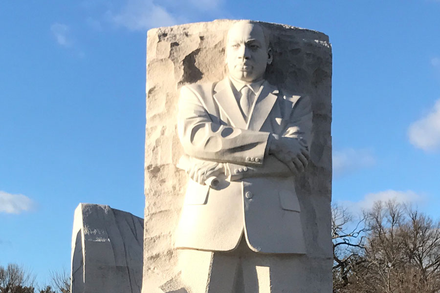 The Dr. Martin Luther King Jr. Memorial is located in Washington, DC.