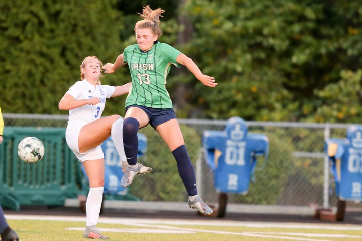 Junior Elle Lewis described the superstitions she carried out before every soccer match.