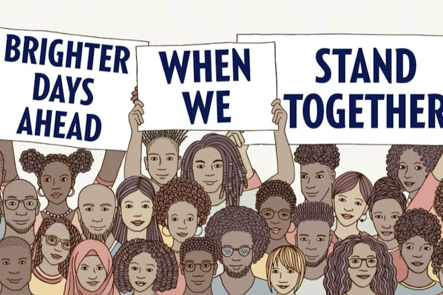 This+image+has+been+used+throughout+Black+History+Month+on+campus+to+promote+diversity+and+social+justice.+