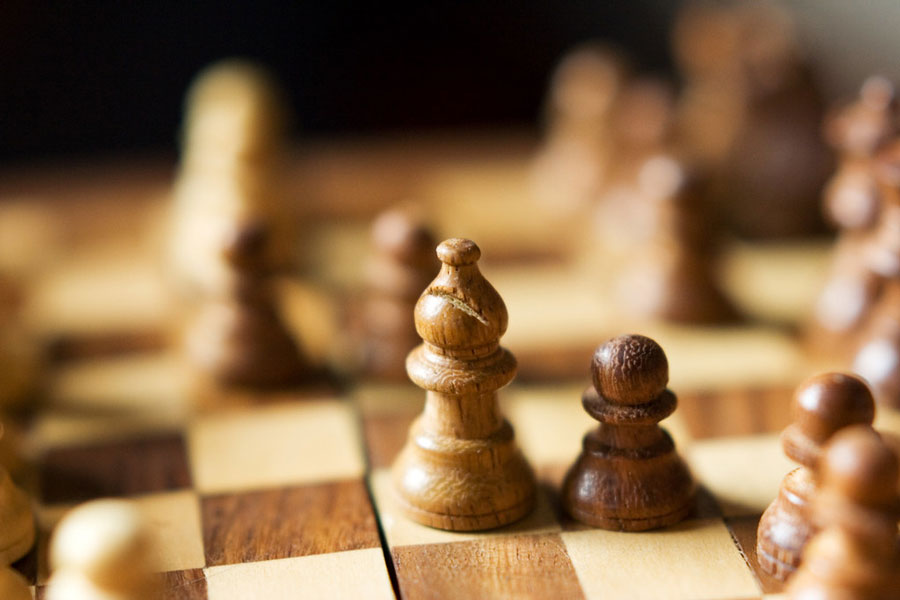 Sign-ups for the chess tournament end Feb. 26.