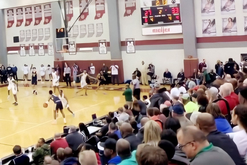 On March 10, the basketball Sectional played at Lawrence Central was packed with fans. Two days later on March 12, in-person classes would take place for the last time during the spring semester.