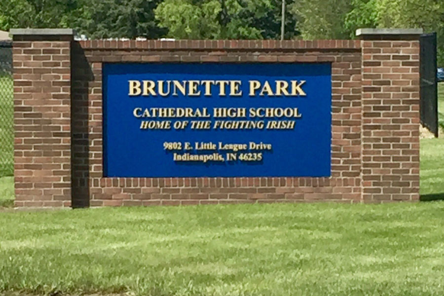 For baseball and softball games at Brunette Park, seating will be limited.