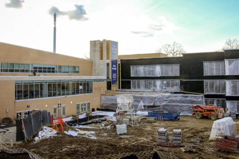 Work continues on schedule on the new Innovation Center.