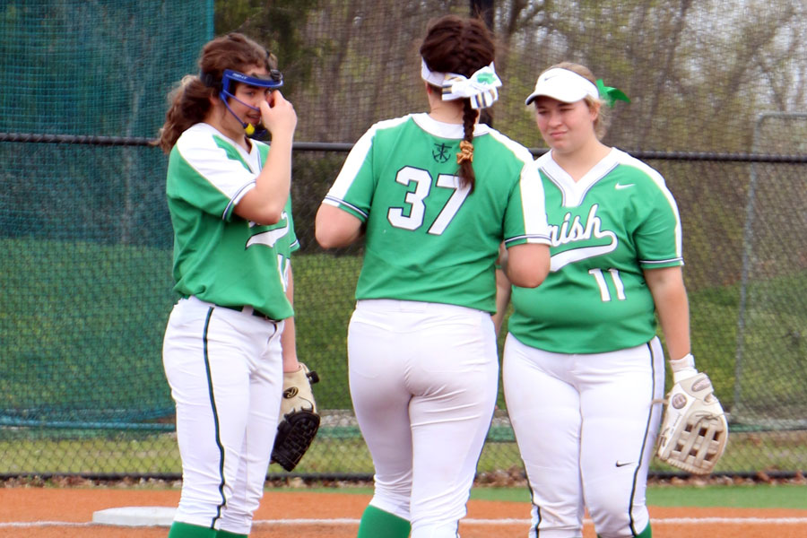 The softball team will play in the Carmel Invitation on April 23 and April 24.