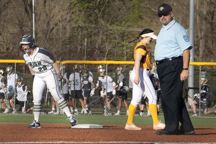 The softball team will host its annual teacher appreciation night on May 13 at Brunette Park.