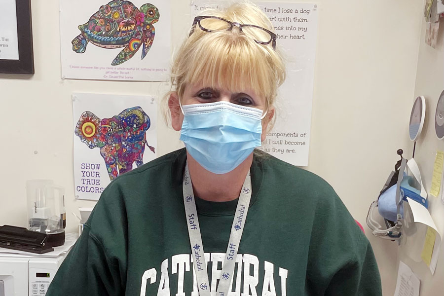 School+nurse+Mrs.+Marianne+Vogt+88+said+it+is+unusual+for+the+CDC+director+to+override+a+committees+decision.+