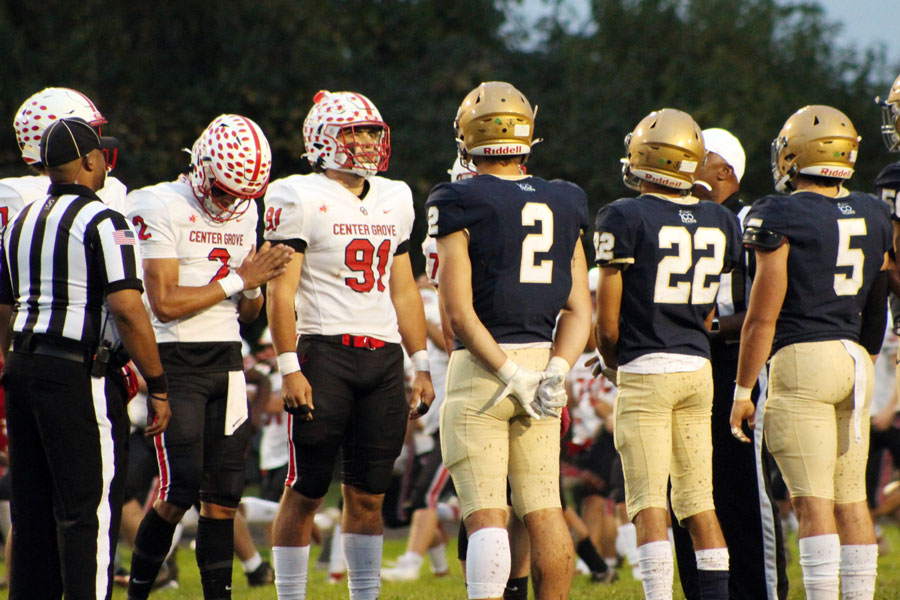 After a regular season loss to 6A top-ranked Center Grove, the varsity football team opens tournament play on Oct. 22 by hosting Terre Haute North.
