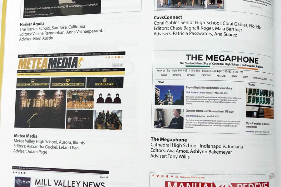 The+Megaphone+website+is+one+of+42+online+student+newspapers+from+across+the+nation+featured+in+the+National+Scholastic+Press+Associations+2021+edition+of+The+Best+of+the+Student+Press.